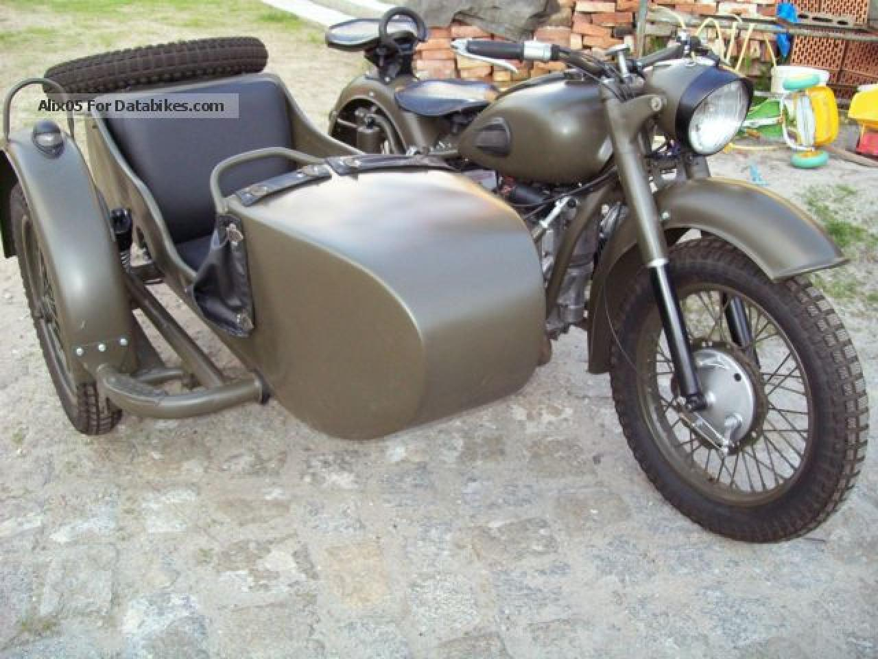 Ural M-63 with sidecar 1971 images #127343