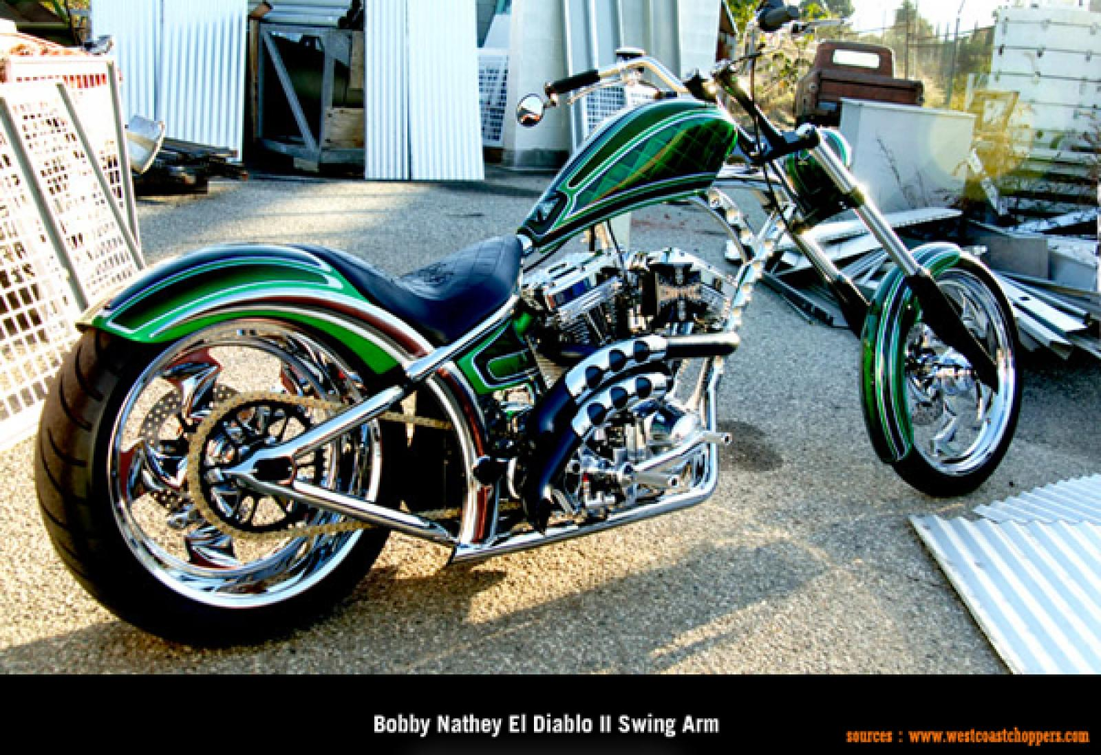 West Coast Choppers El Diablo Swingarm 2010 wallpapers #141718