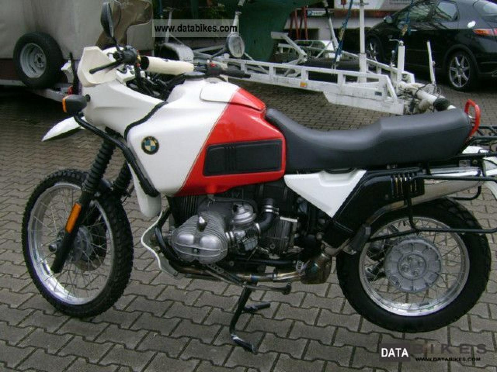 BMW R100GS Paris-Dakar images #7518