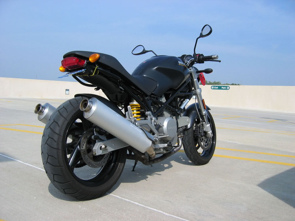 Ducati Monster 620 Dark 2006 wallpapers #12174