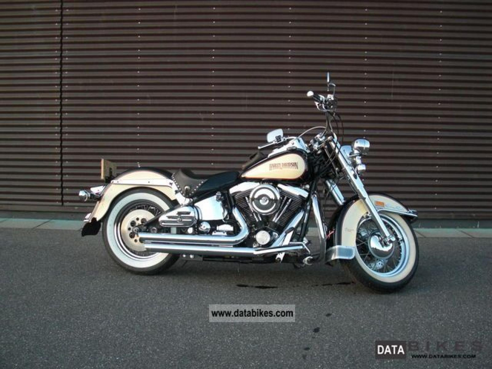Harley-Davidson FLST Heritage Softail 1987 wallpapers #160164