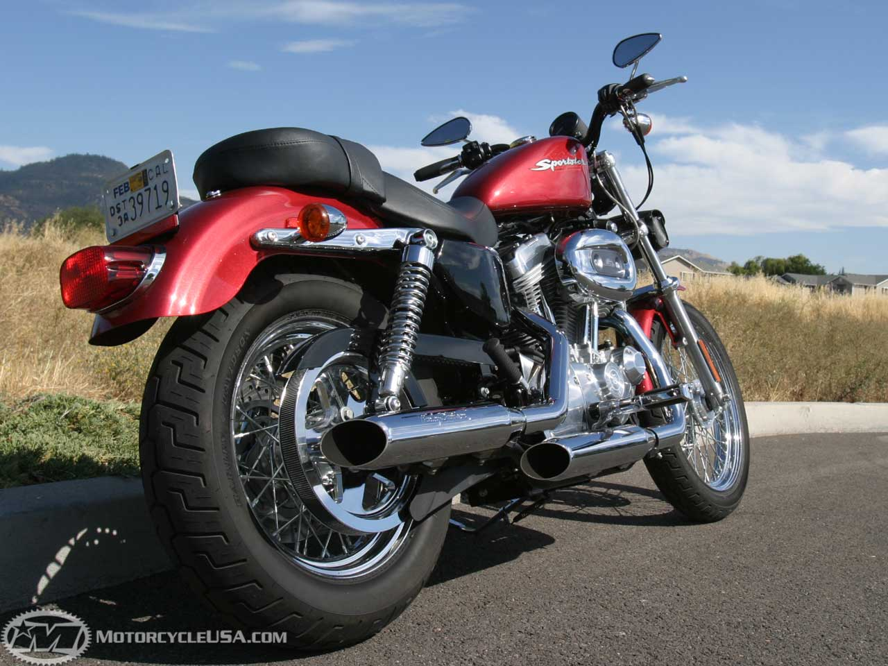 Harley-Davidson XL883C Sportster Custom 2005 wallpapers #134085