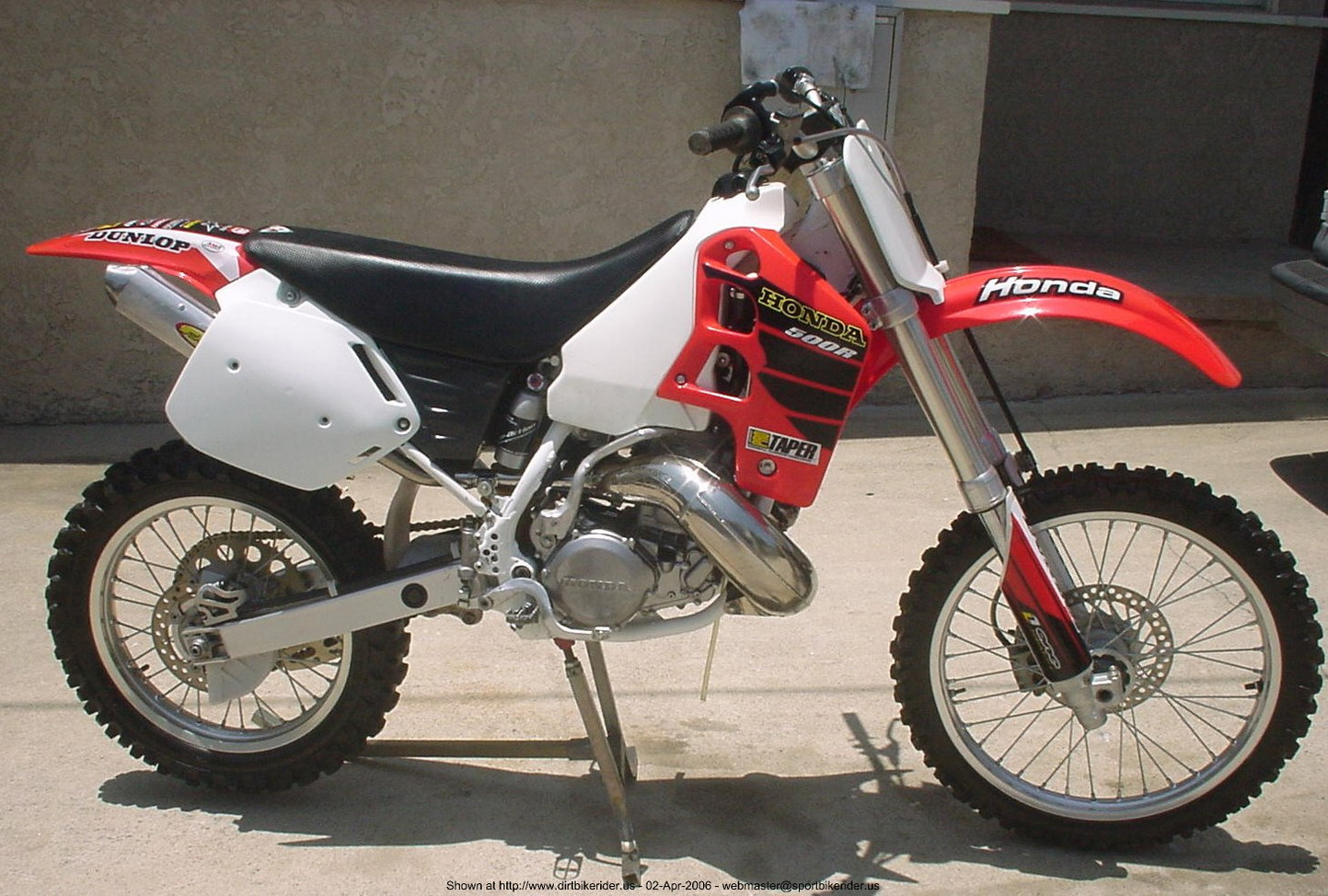 2002 honda cr 500 e pic 4. Black Bedroom Furniture Sets. Home Design Ideas