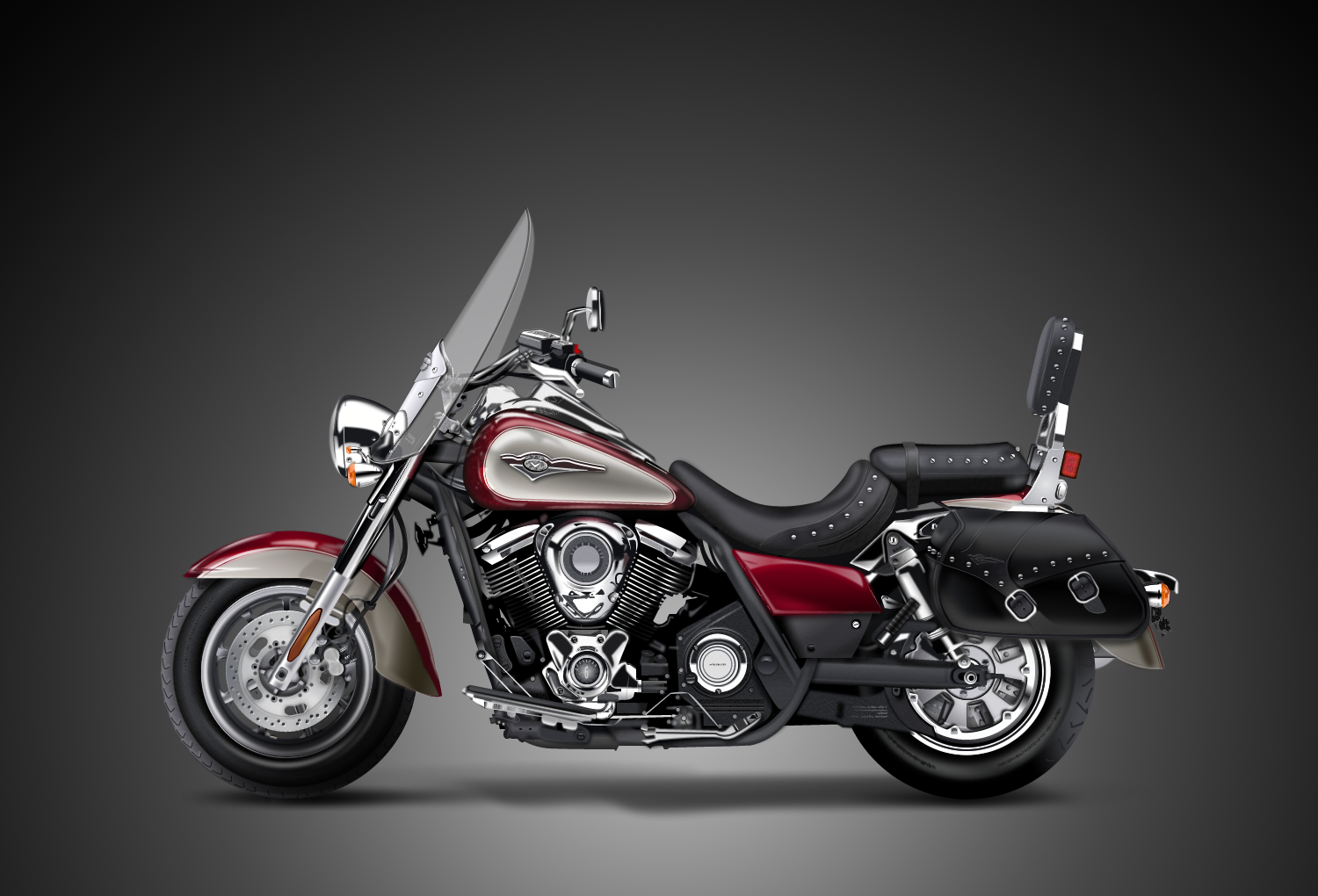 2010 kawasaki vulcan 1700 classic lt pics specs and. Black Bedroom Furniture Sets. Home Design Ideas
