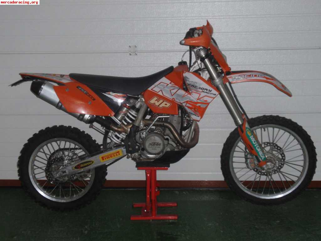 KTM 450 EXC Racing 2005 images #86426