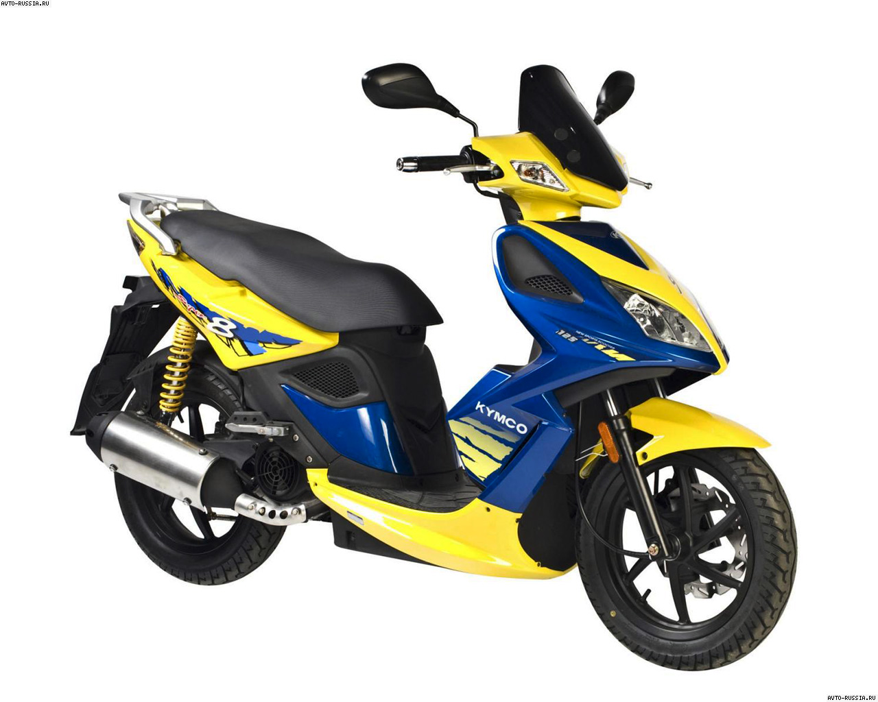 Kymco Super 8 2010 images #102095