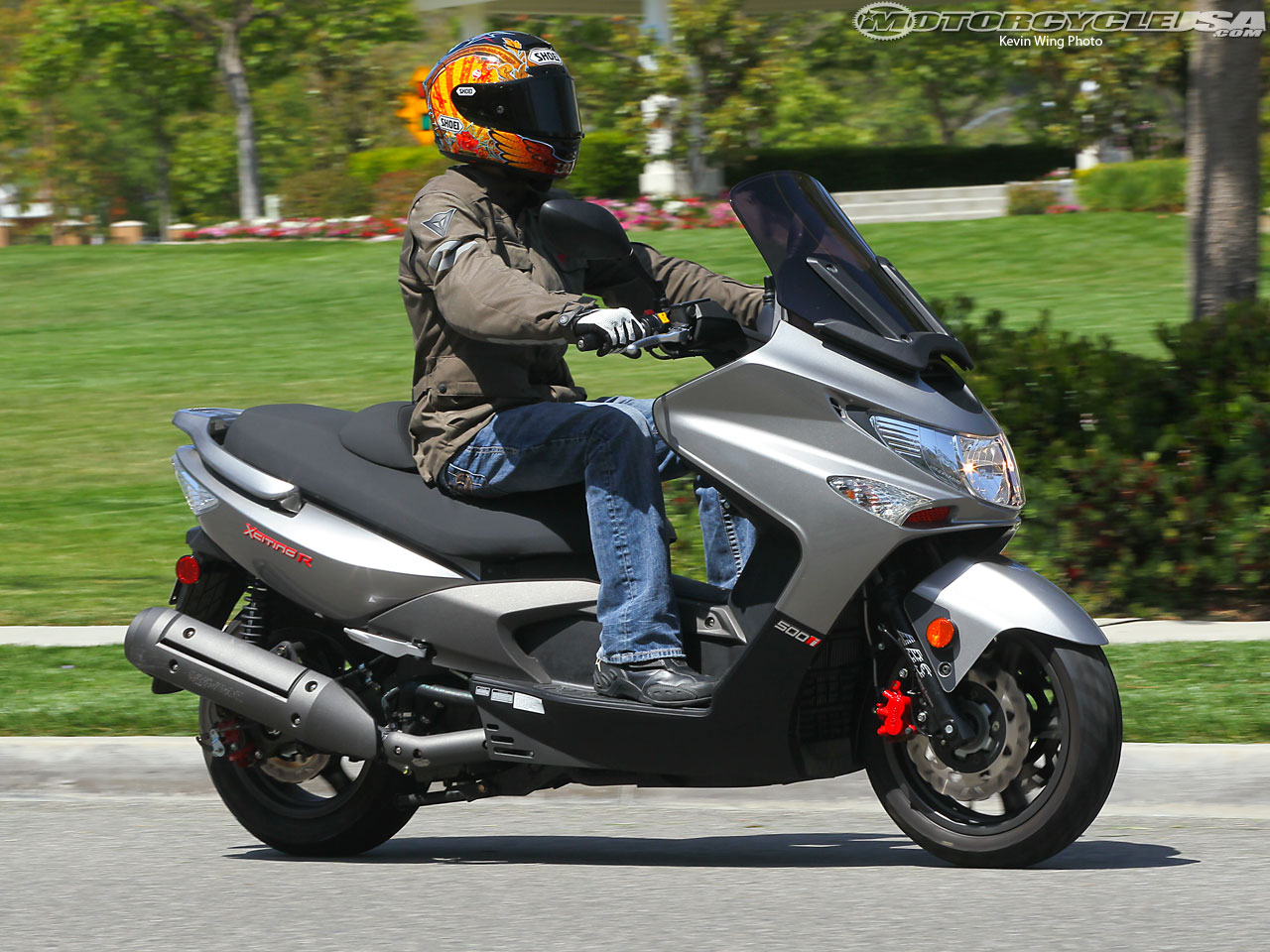 Kymco Xciting 500i 2010 images #101996
