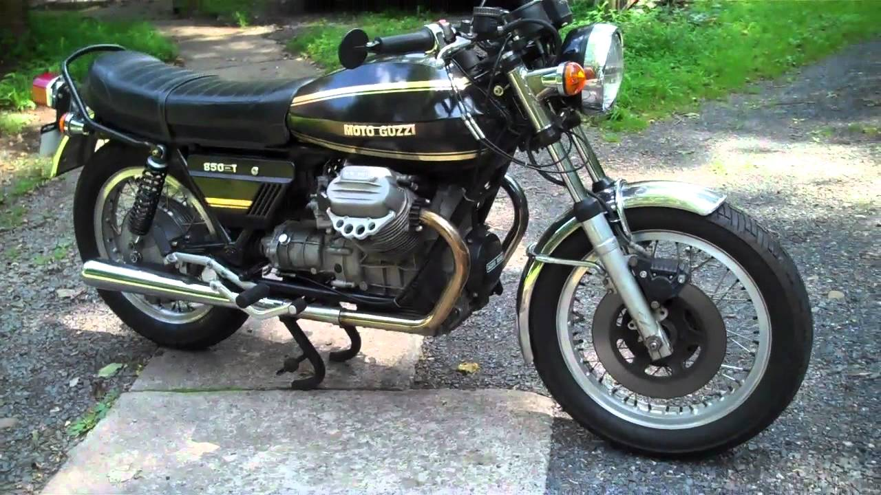 Moto Guzzi 850 California 1975 images #107139