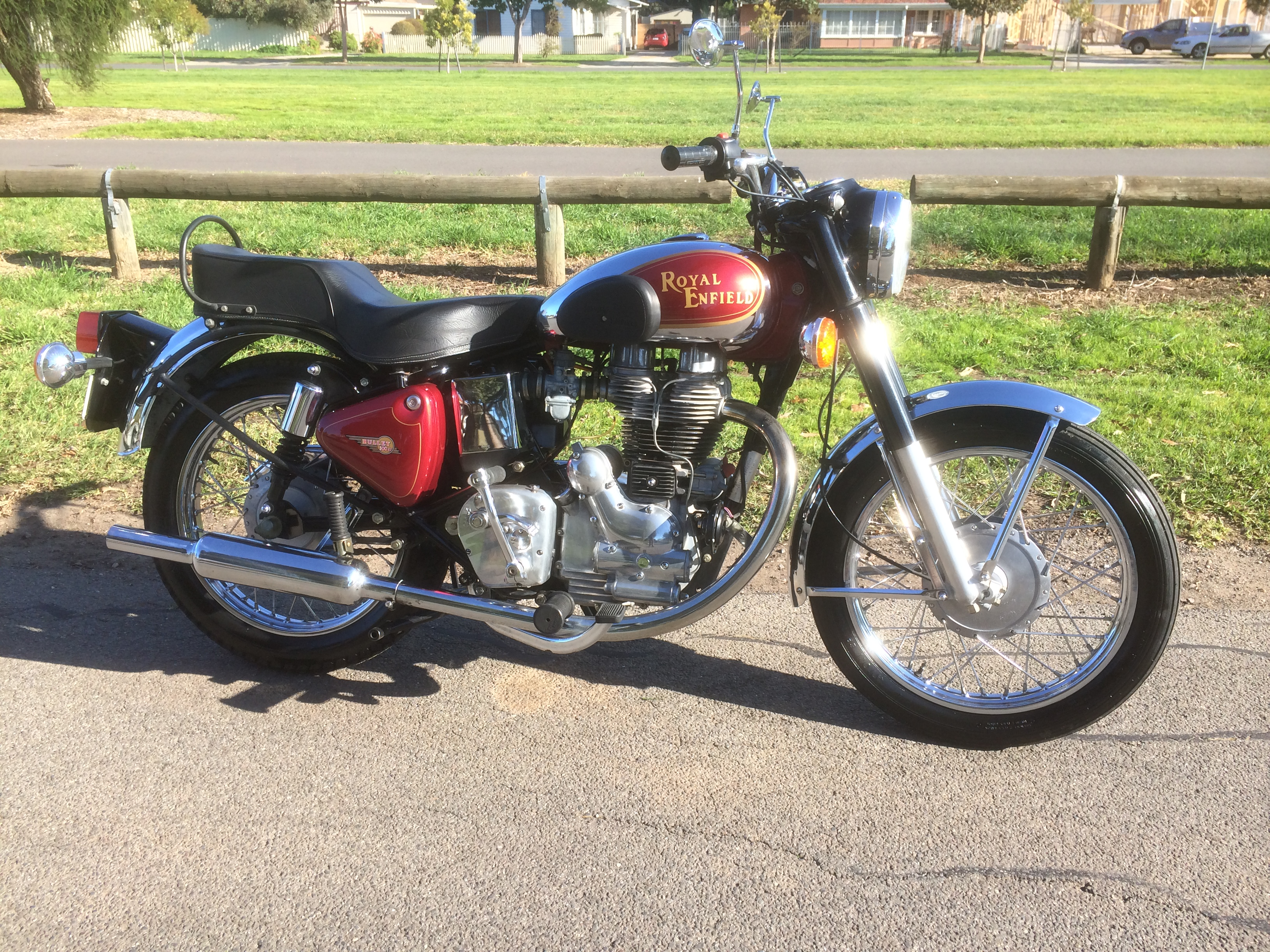 Royal Enfield Bullet 500 ES Deluxe 2005 images #123404