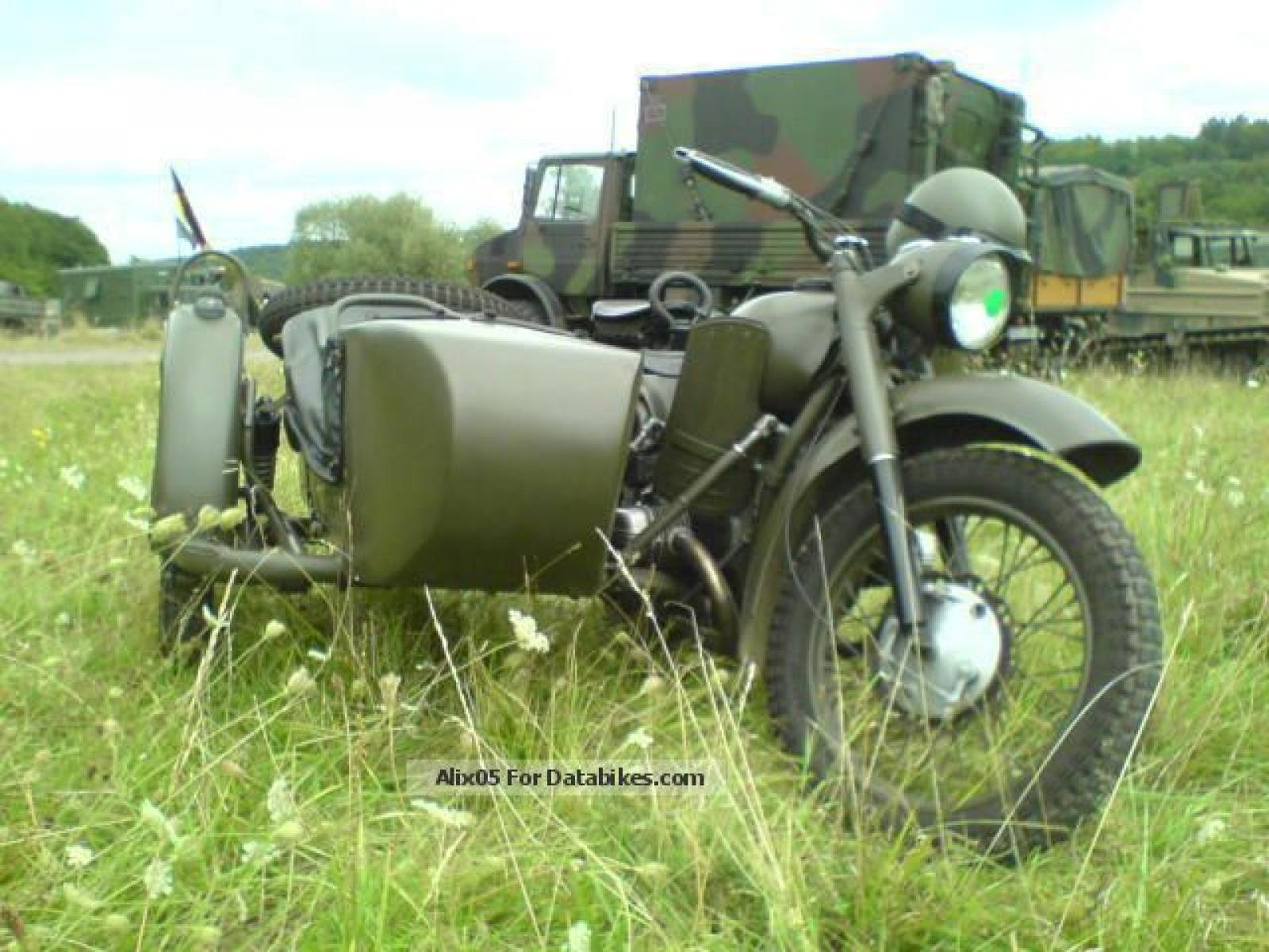 Ural M-63 with sidecar 1975 images #127073