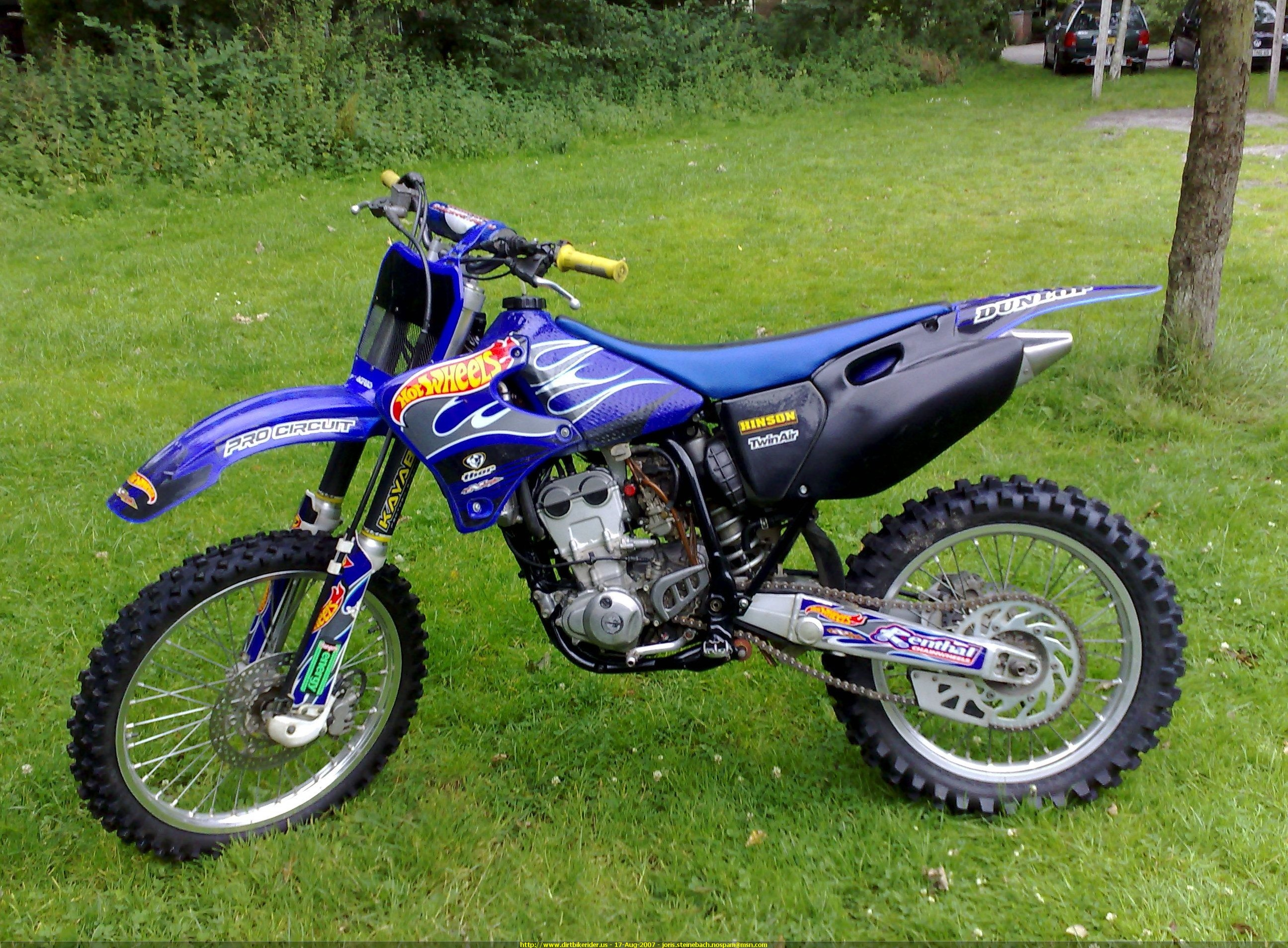 2002 yamaha yz 250 f pics specs and information. Black Bedroom Furniture Sets. Home Design Ideas