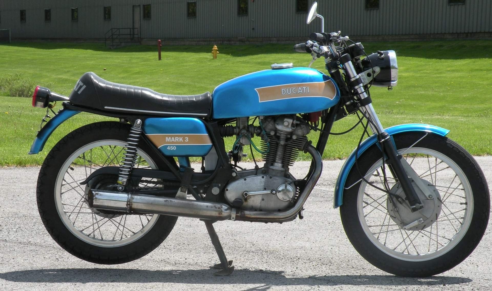Ducati 450 Mark 3 D 1973 images #10286