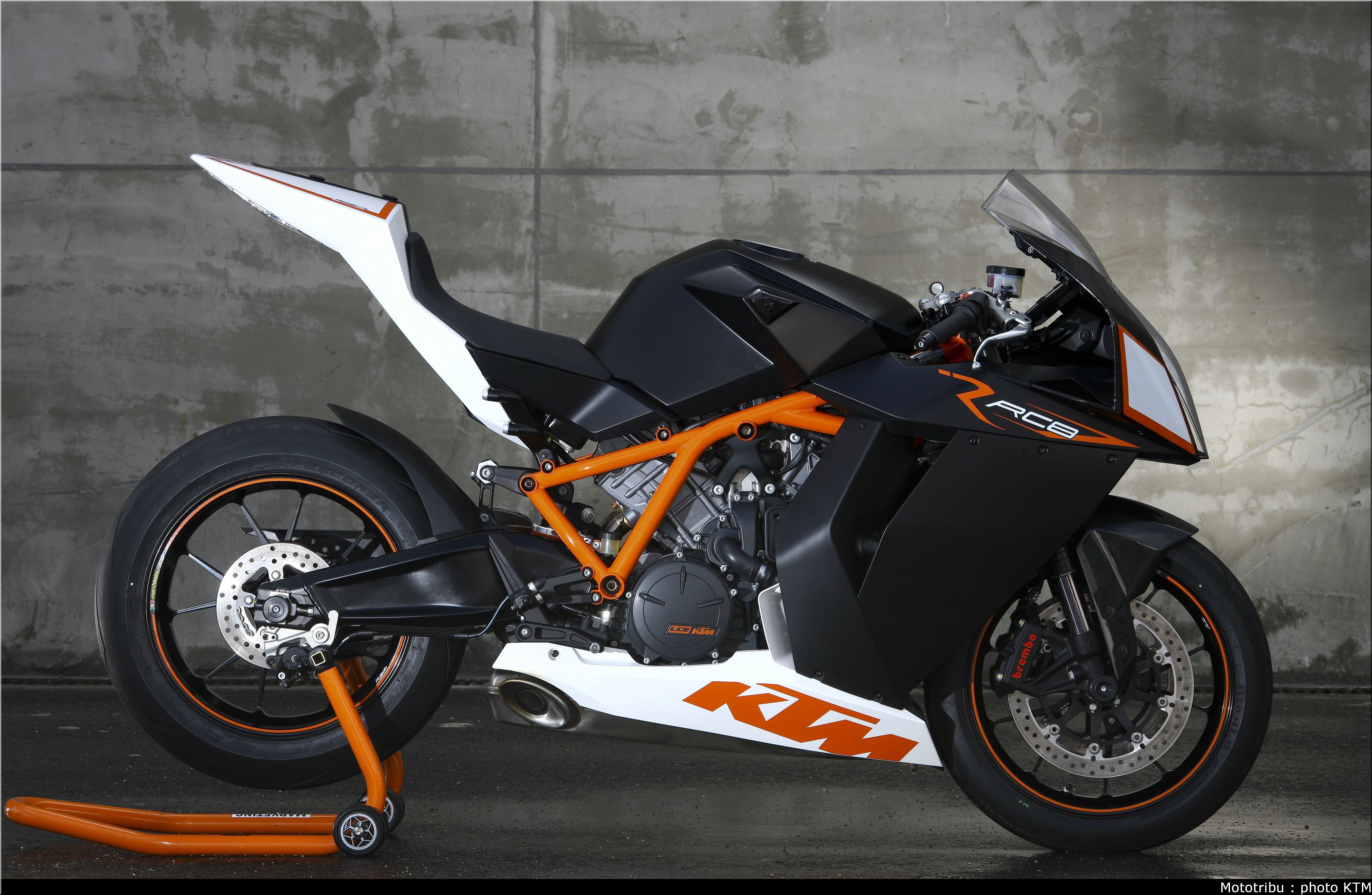 KTM RC8 2009 wallpapers #135474
