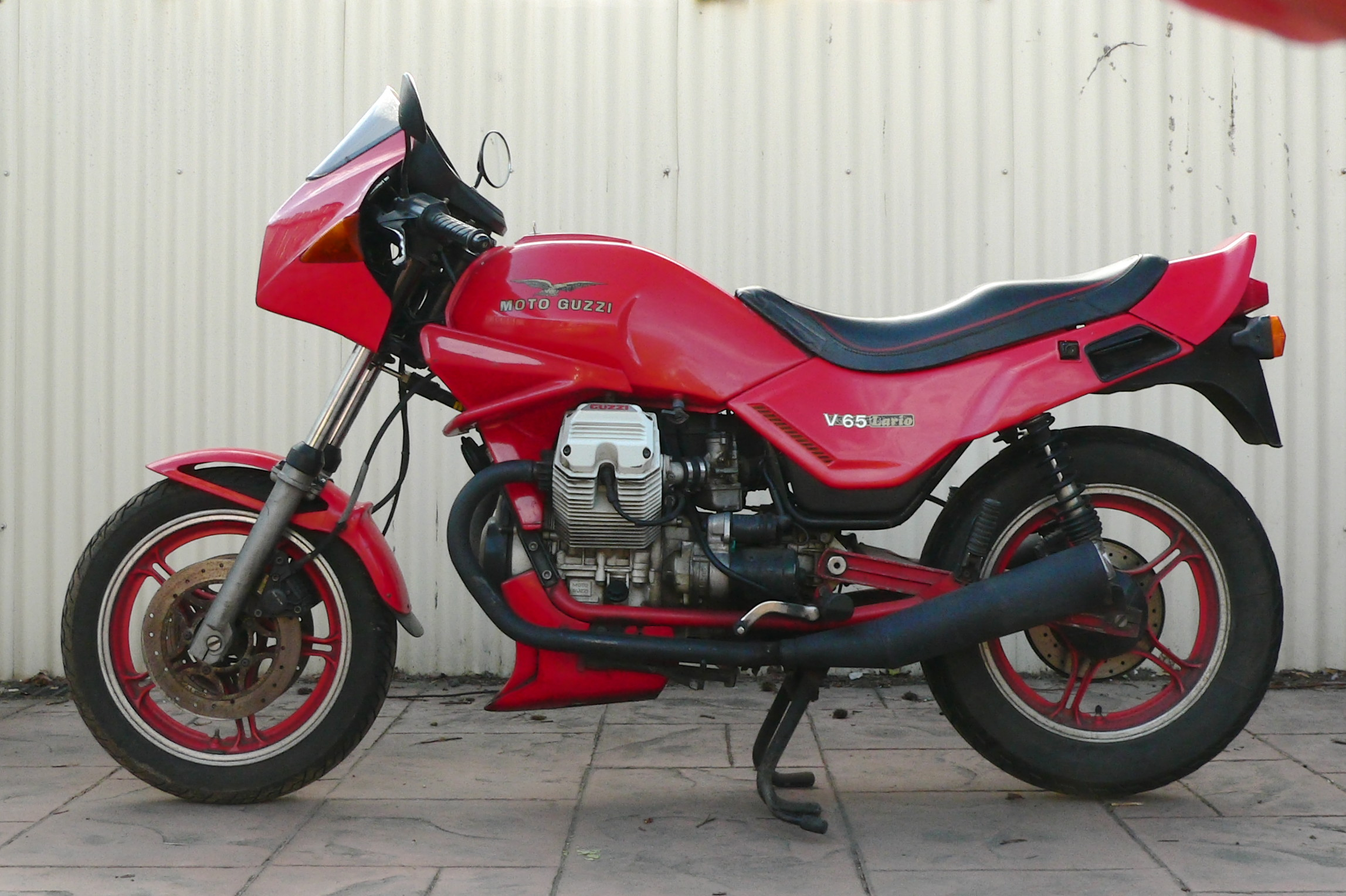 Moto Guzzi V65 Lario 1986 wallpapers #161060