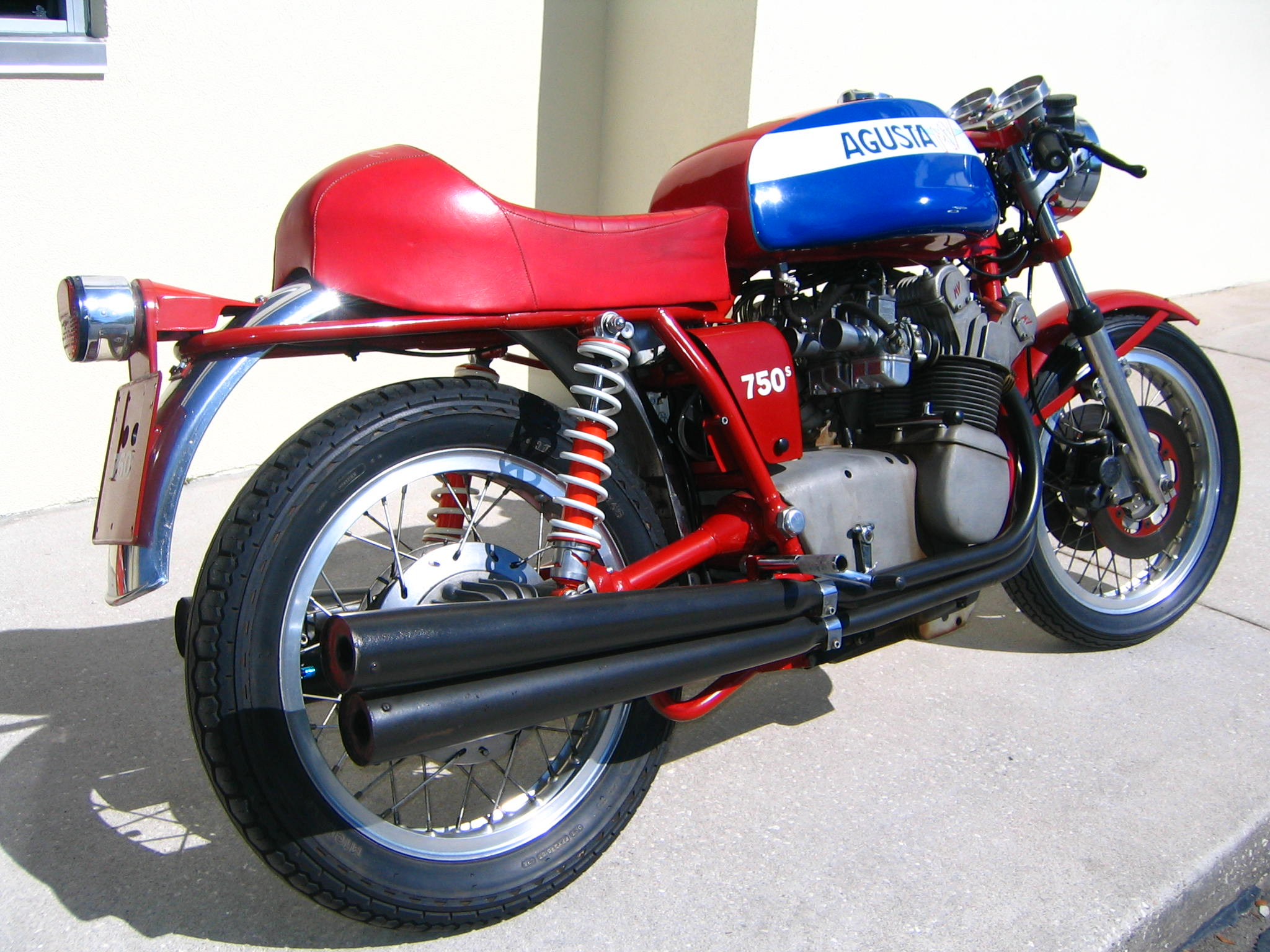 MV Agusta 750 S 1972 images #113245