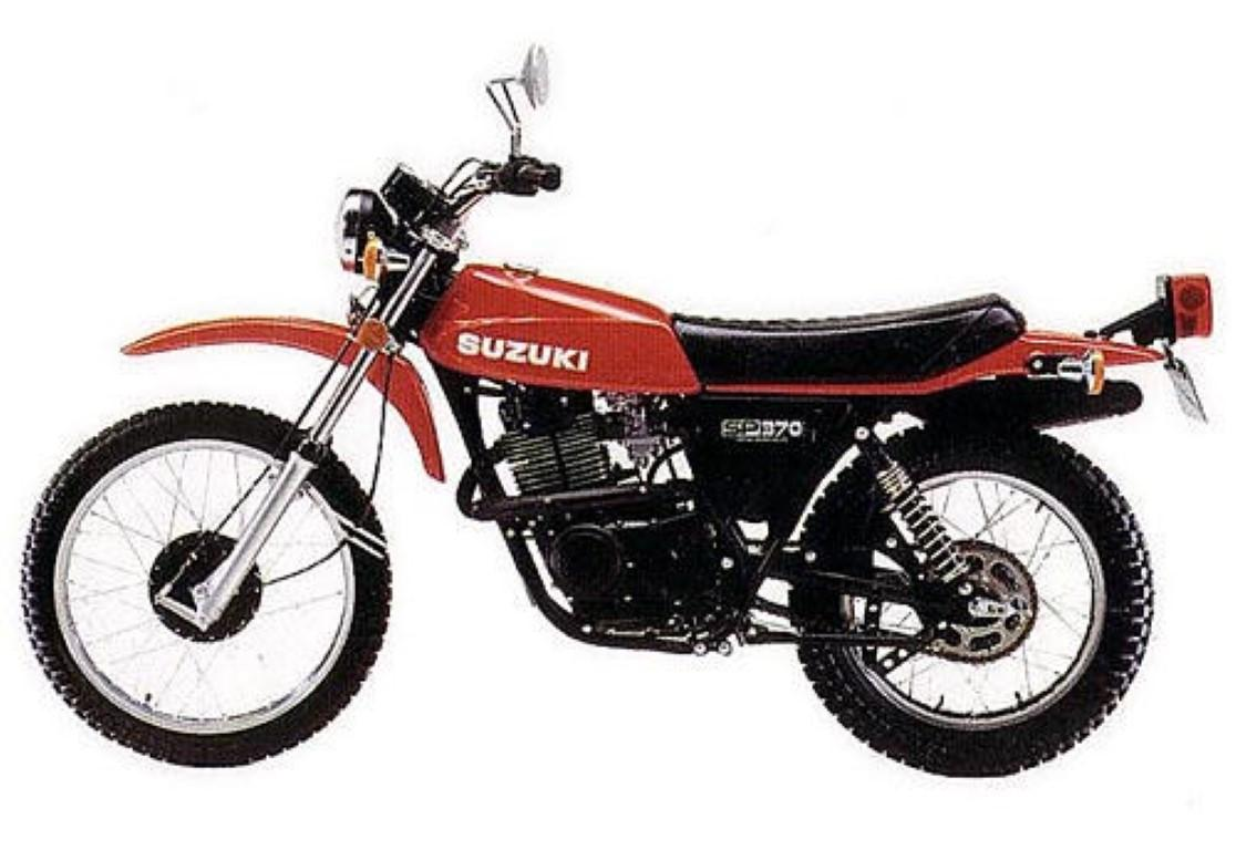 Suzuki SR 370 1981 wallpapers #142613