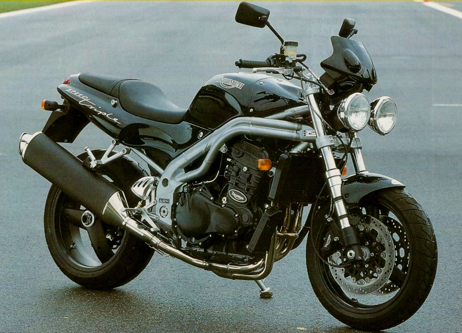Triumph Speed Triple 955 2001 wallpapers #130516