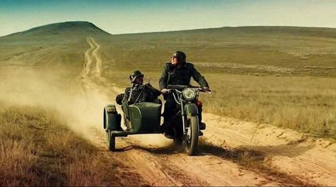 Ural M-63 with sidecar 1971 images #127345
