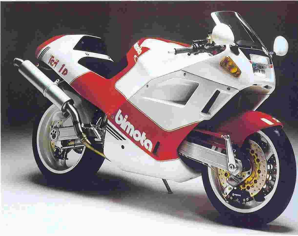 Bimota YB 10 Dieci Biposto 1991 wallpapers #137059
