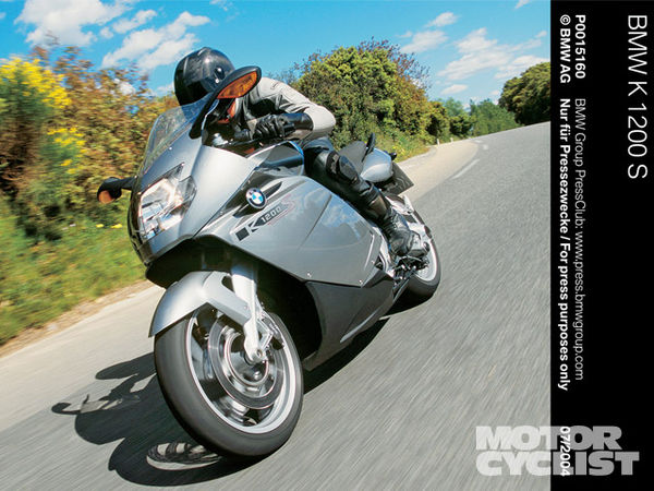 BMW K1200R Cupracer 2005 wallpapers #132999