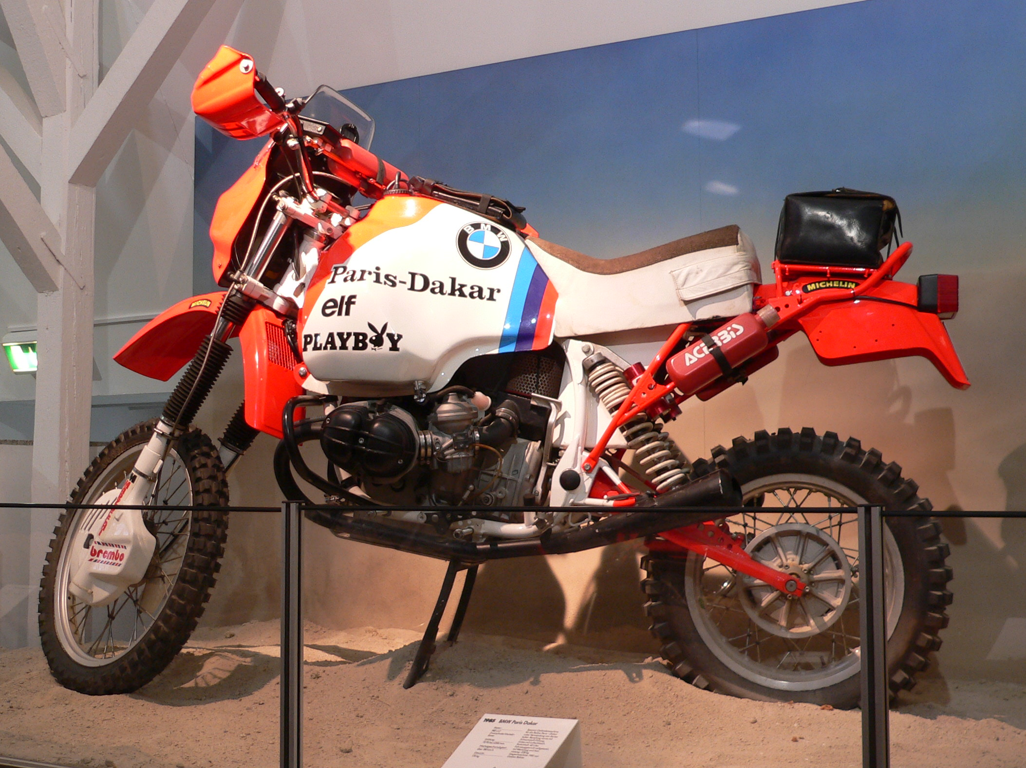 BMW R100GS Paris-Dakar images #7520