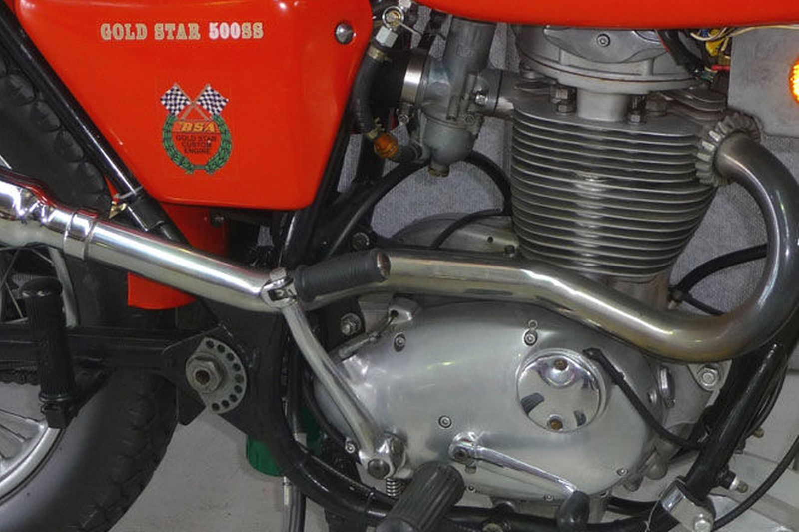 BSA 500 SS Gold Star 1971 images #93868