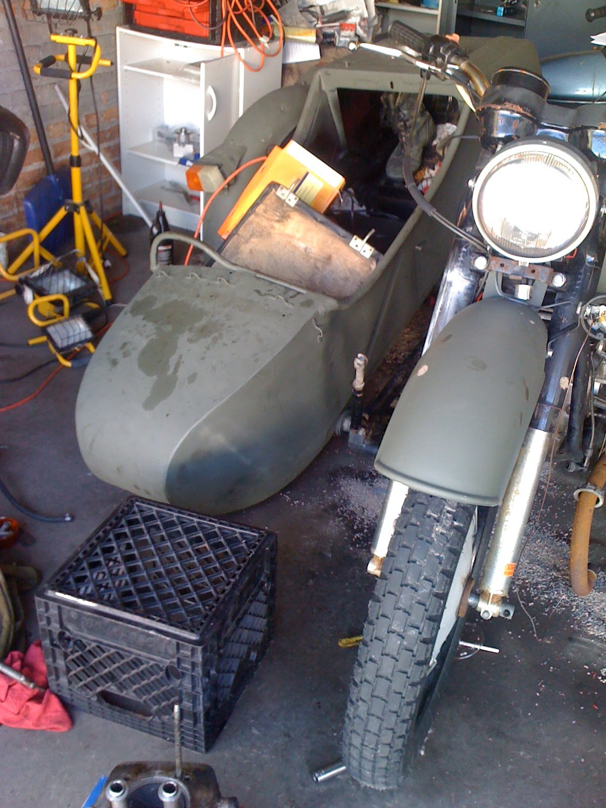 Dnepr MT 10 with sidecar 1975 images #70870