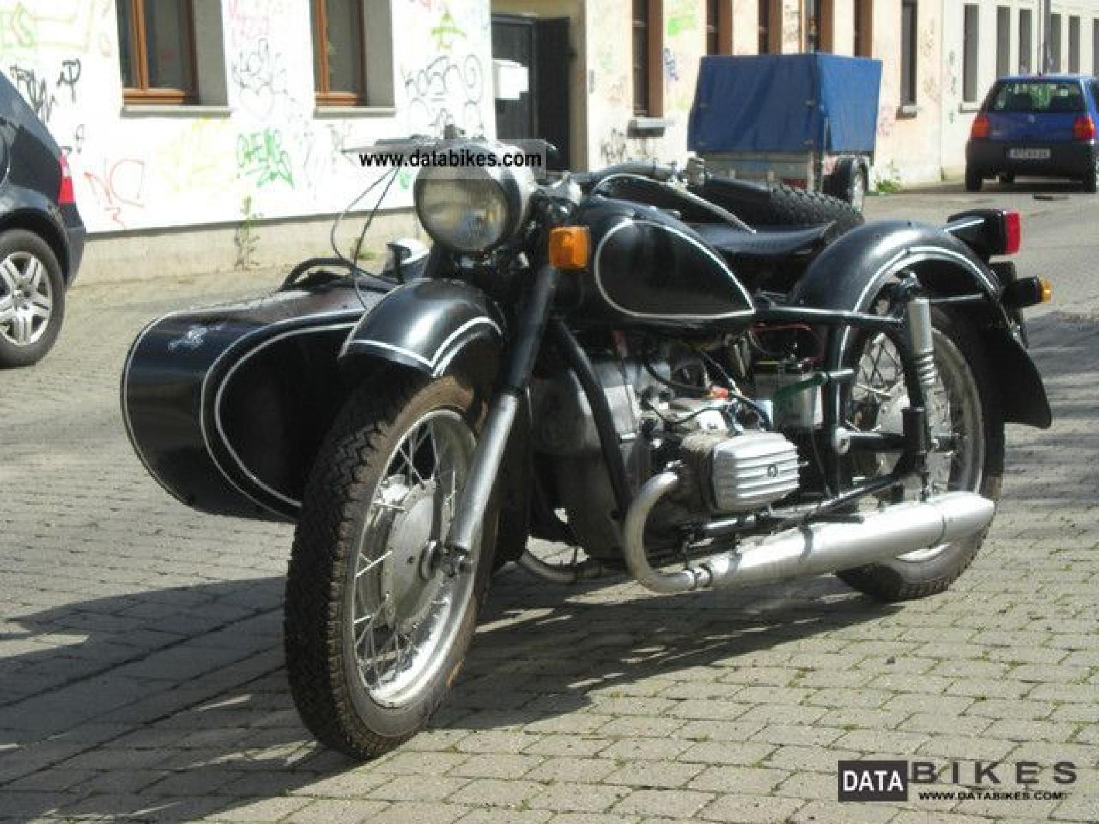 Dnepr MT 11 with sidecar 1986 images #72152