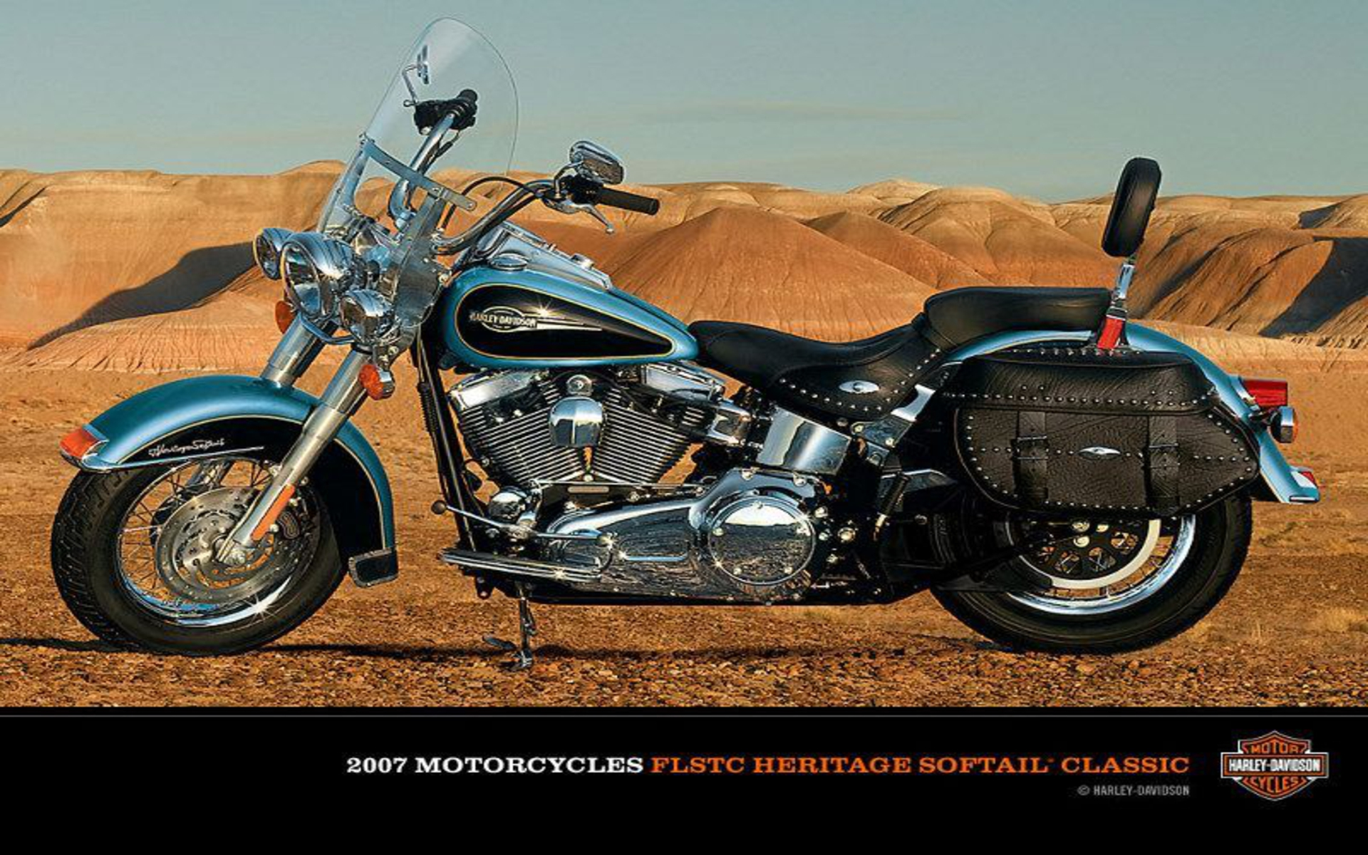 Harley-Davidson FLSTC Heritage Softail Classic 2007 wallpapers #134386
