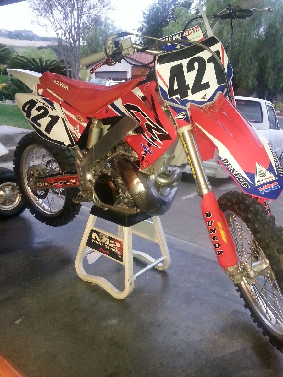 2001 Honda CR 250 R: pics, specs and information