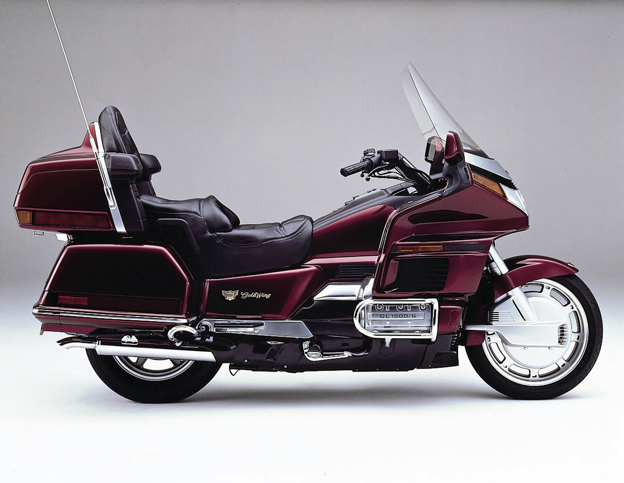 1990 Honda GL 1500 SE Gold Wing: pics, specs and information ...