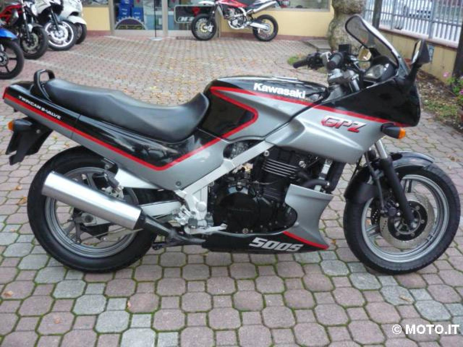 Kawasaki GPZ 500 S (reduced effect) 1988 images #83746