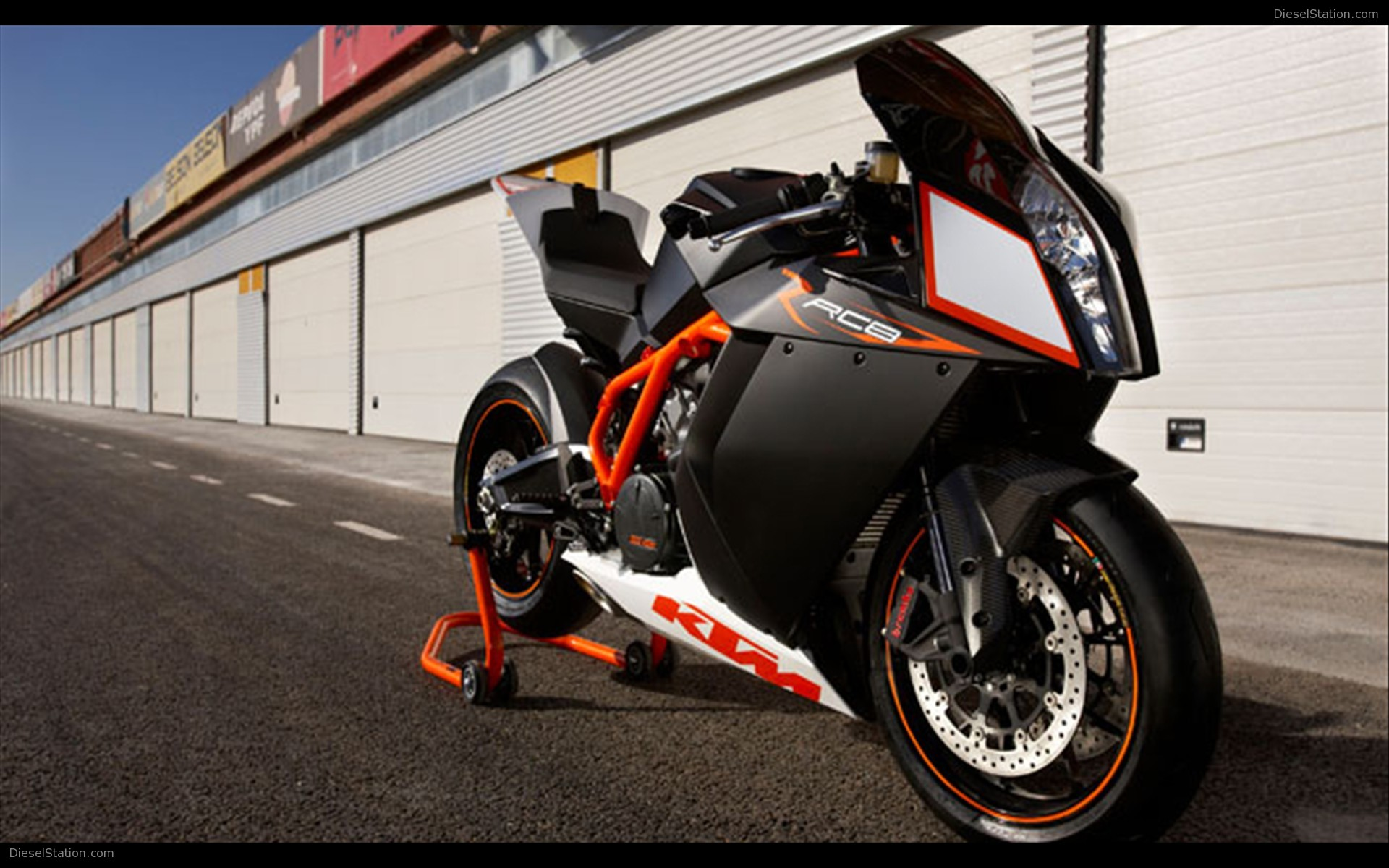 KTM RC8 2009 wallpapers #135475