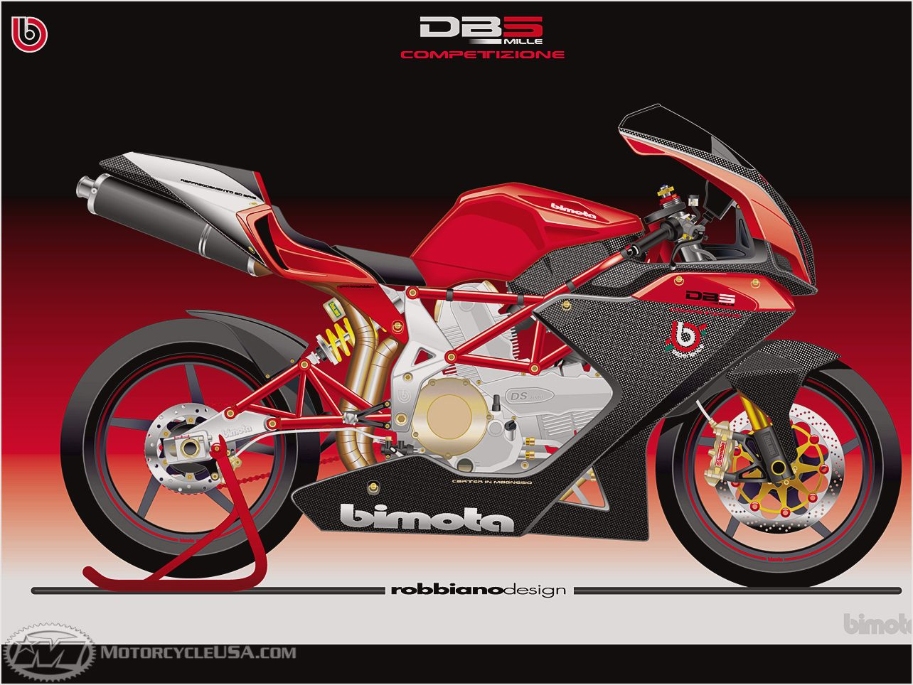 Bimota YB 10 Dieci Biposto 1991 wallpapers #137060