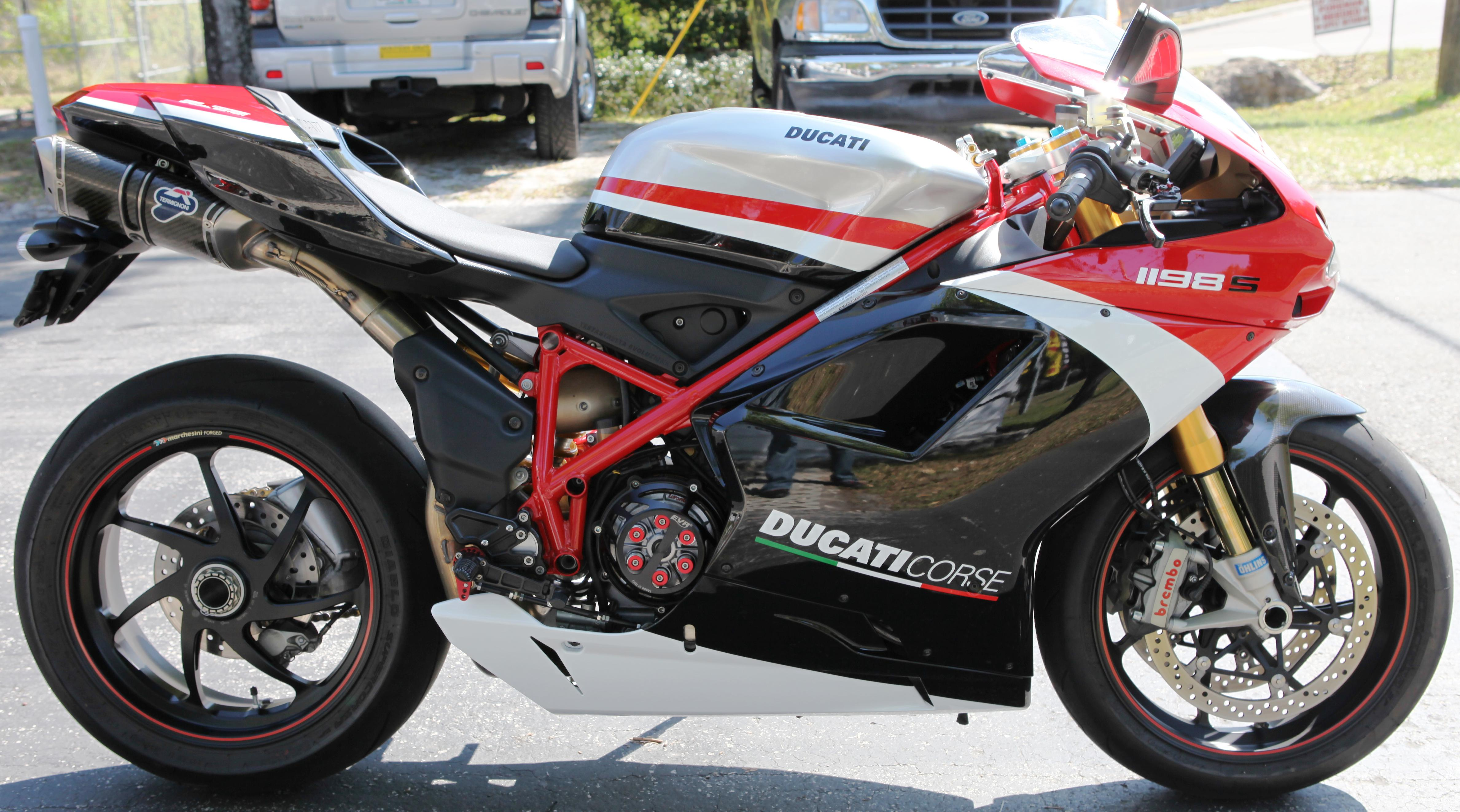 Ducati 1198R Corse wallpapers #13172