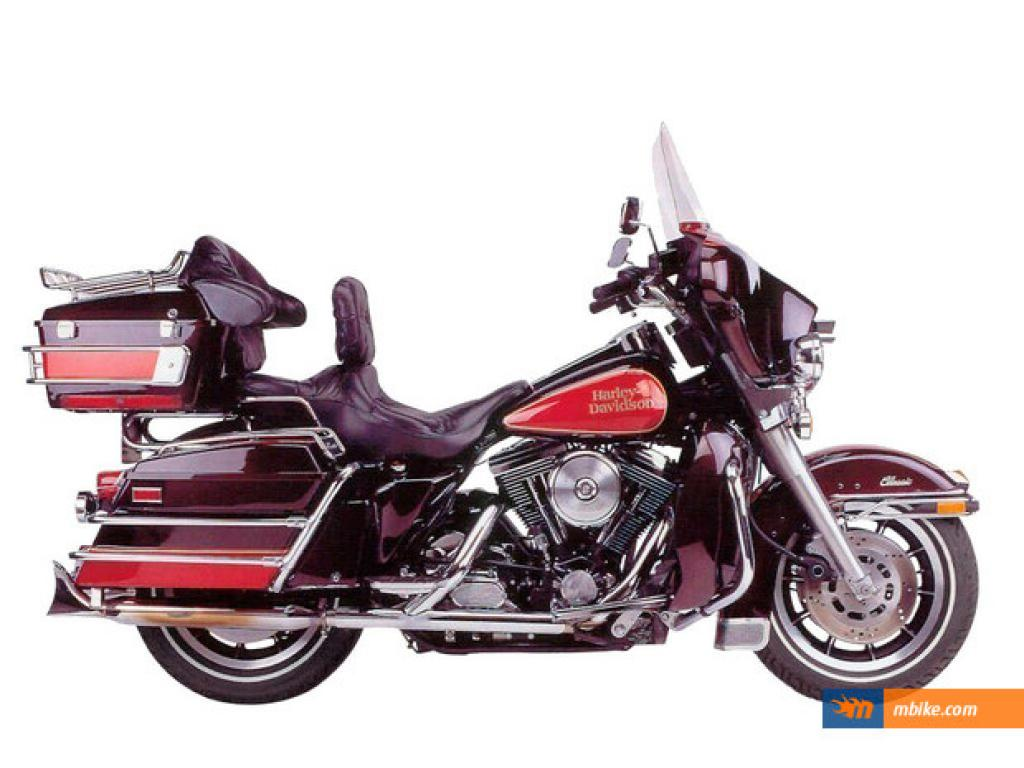 Harley-Davidson FLHTC 1340 Electra Glide Classic 1992 pics #148365