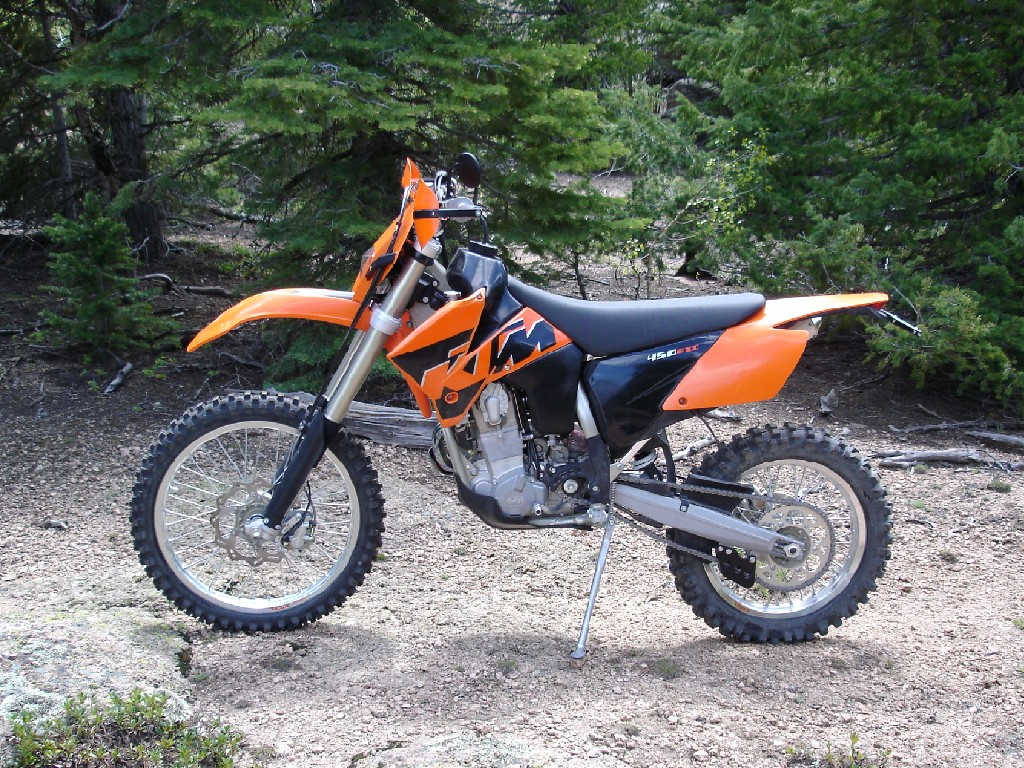 KTM 450 EXC Racing 2005 images #86429
