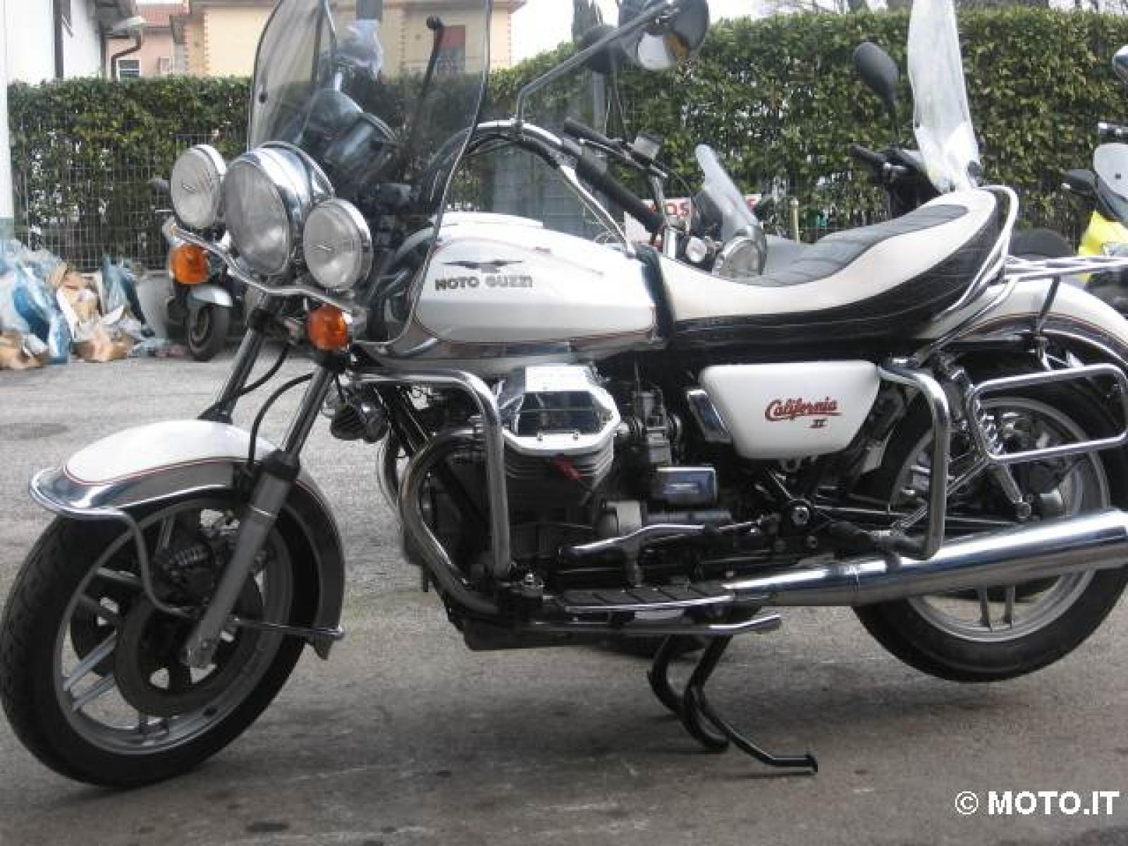 1982 moto guzzi california ii pics specs and information. Black Bedroom Furniture Sets. Home Design Ideas
