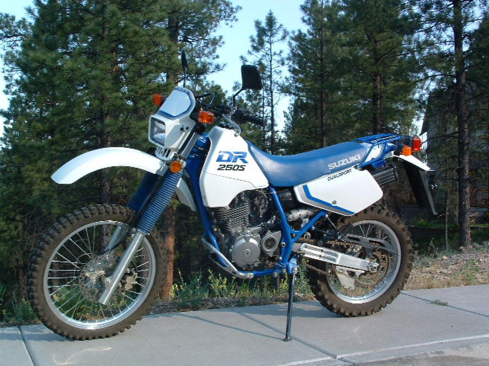 1989 suzuki dr 250 s pics specs and information. Black Bedroom Furniture Sets. Home Design Ideas