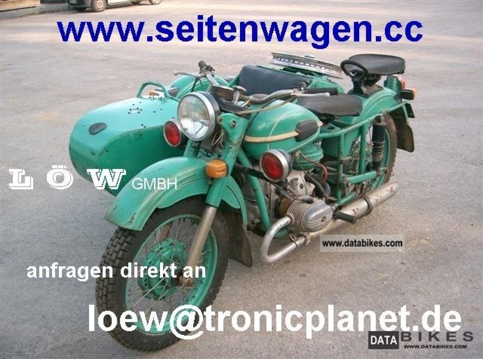 Ural M-63 with sidecar 1971 images #127347