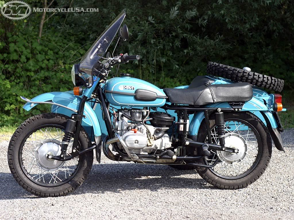 Ural M 67-6 with sidecar 1990 wallpapers #131610