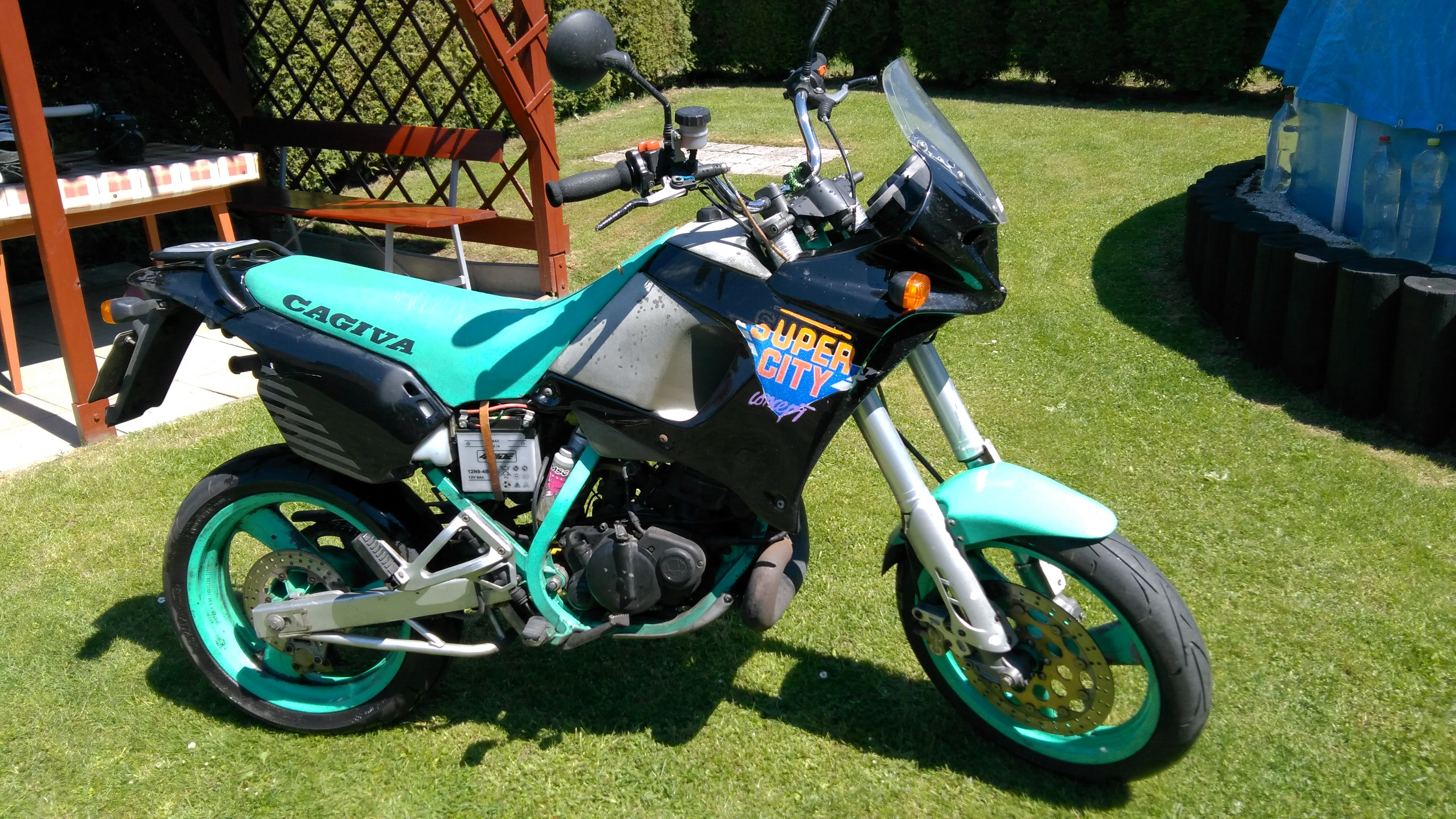 Cagiva Super City 125 1997 images #67232