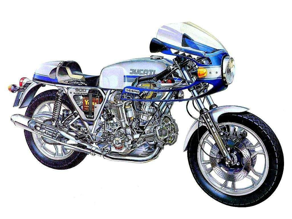 Ducati 900 SS 1980 wallpapers #10489