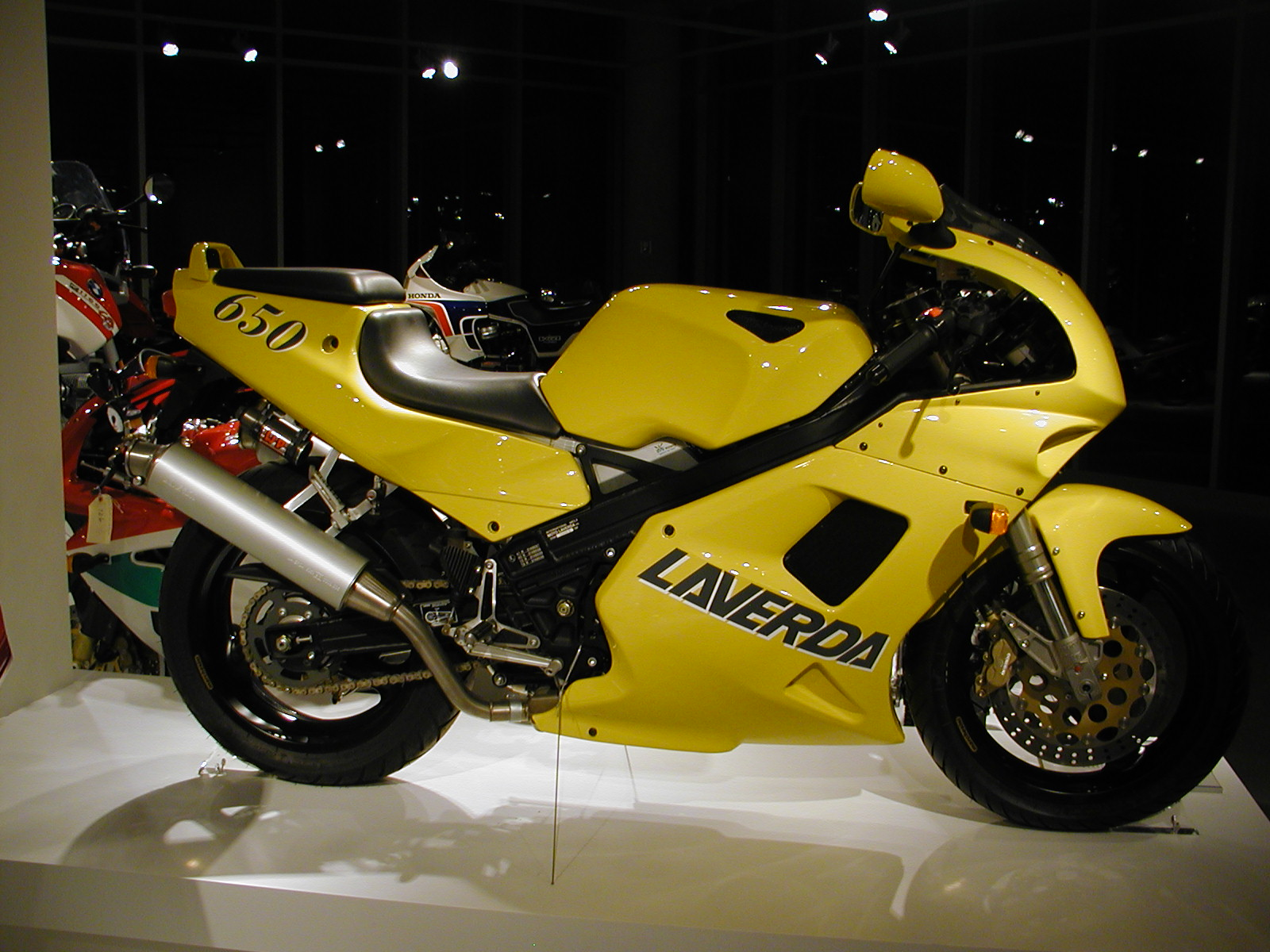 Laverda 650 Ghost Strike images #101807