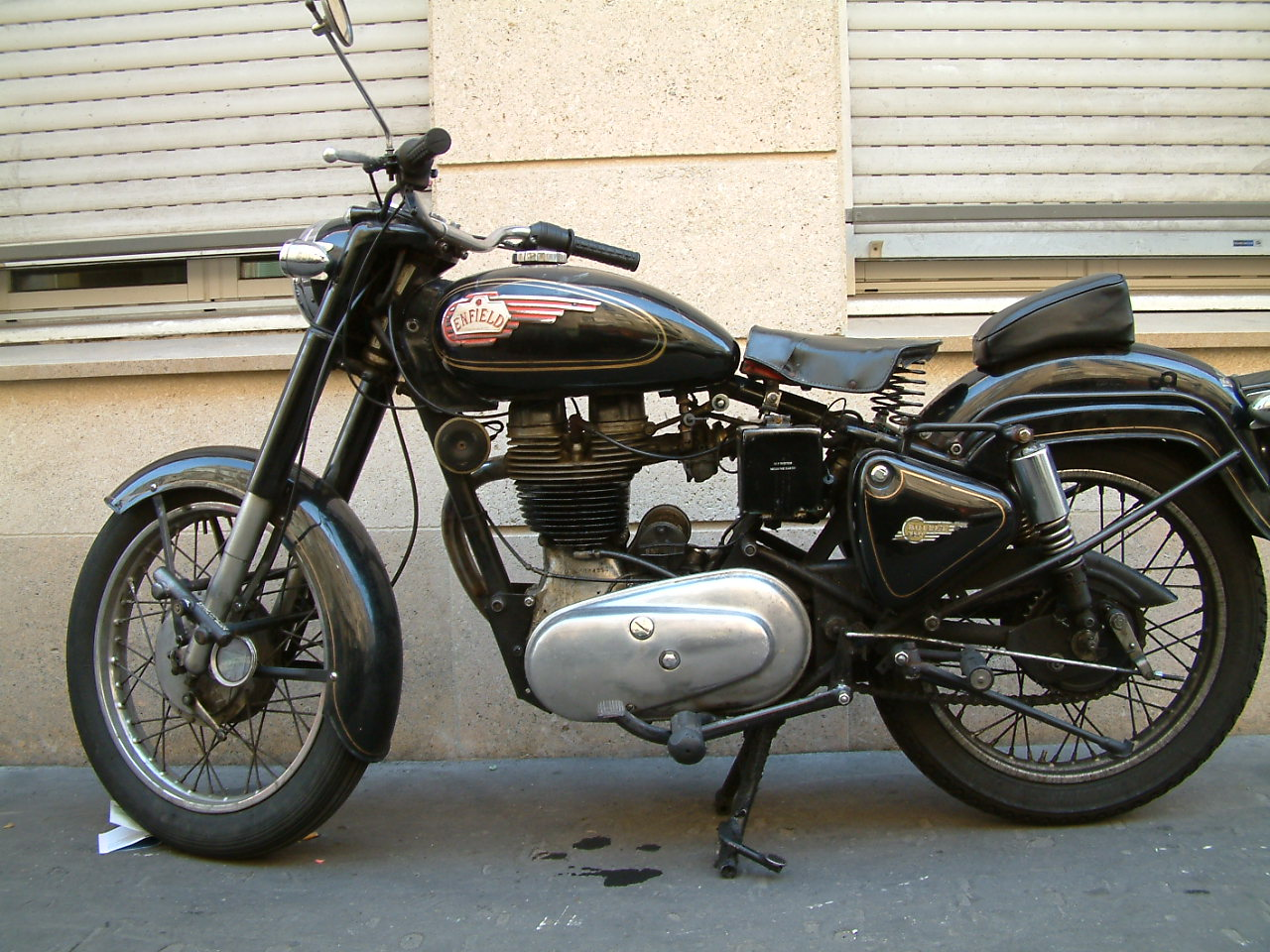 Royal Enfield Bullet 500 ES Deluxe 2005 images #123408