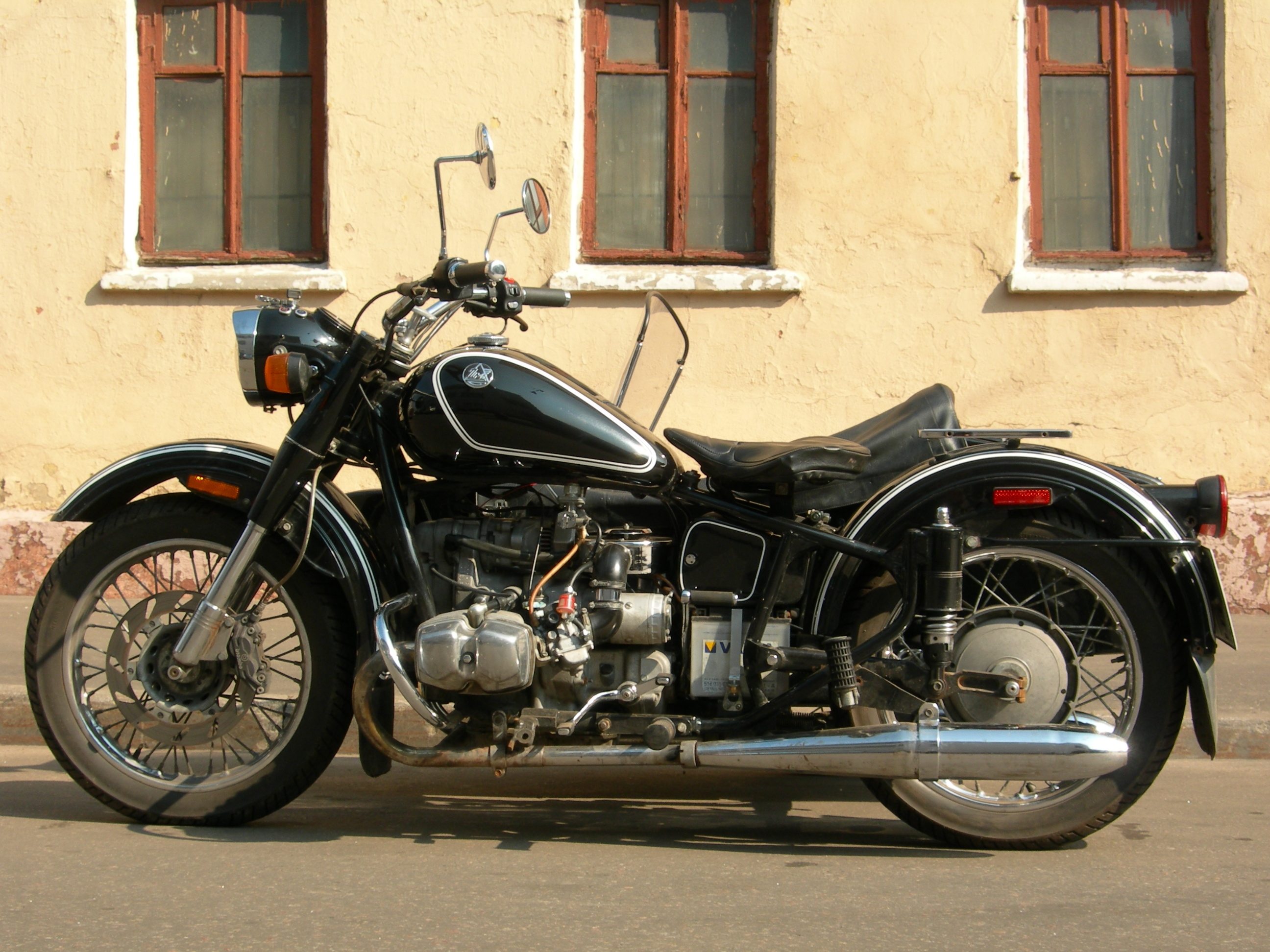 Ural M-63 with sidecar 1971 images #127348