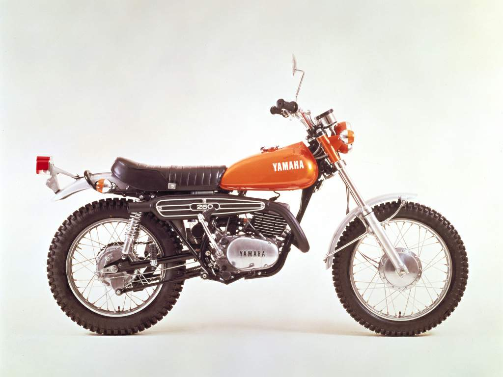Yamaha DT 250 1973 images #90012