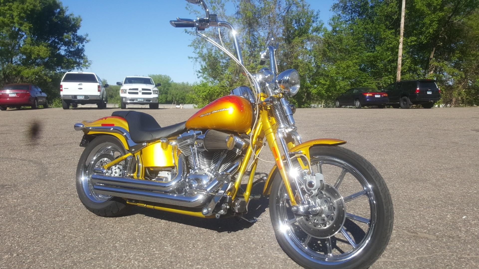 2007 Harley Davidson Fxstsse Screamin Eagle Softail Springer Pic 8 Onlymotorbikes Com