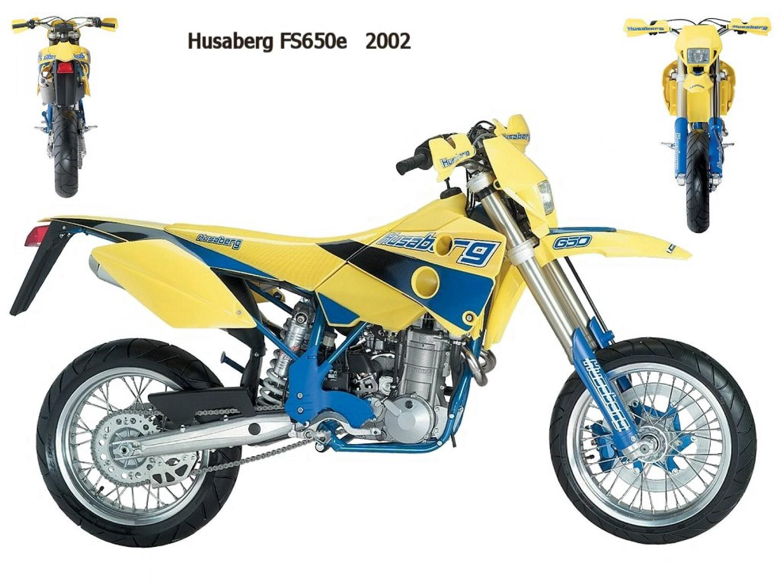 Husaberg FS 650 C 2002 wallpapers #137855