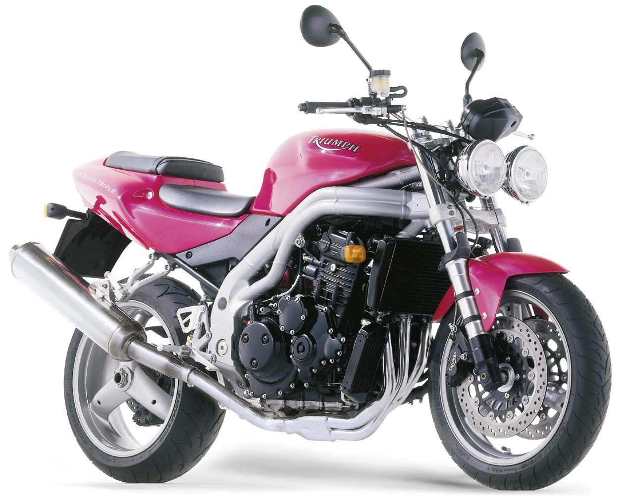 Triumph Speed Triple 955 2001 wallpapers #130520